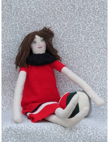 Rag Doll with Ball